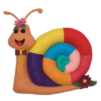 عروسک مدل رنگینک طرح حلزون ارتفاع 28سانتی متر