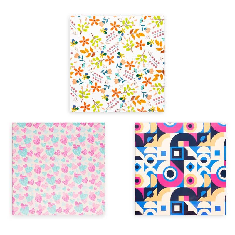 کاغذ کادو طرح رنگارنگ کد 04 مجموعه 6 عددی