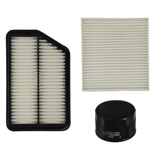 فیلتر هوا خودرو آرو مدل 2S000 مناسب برای جک S5 به همراه فیلتر کابین و فیلتر روغن