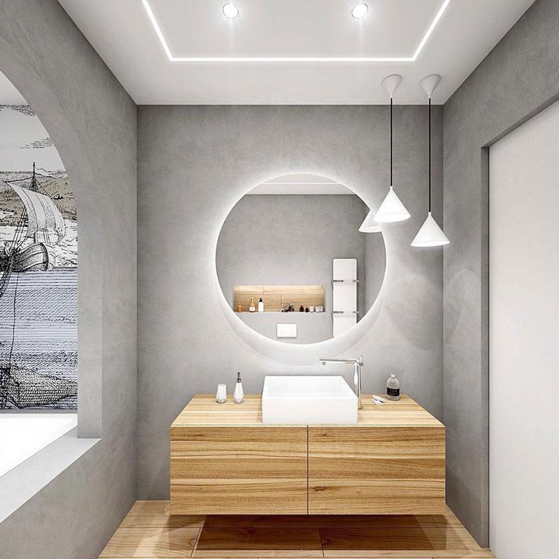 آینه سرویس بهداشتی ولک مدل backlit 800