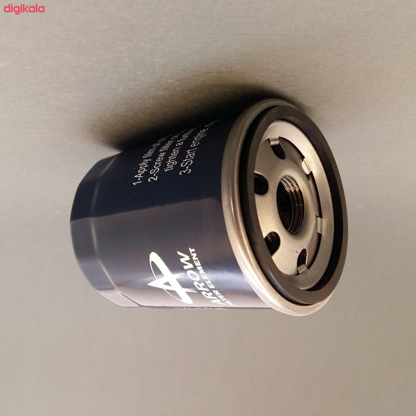 فیلنر روغن خودرو آرو مدل AF50755 مناسب برای نیسان ماکسیما به همراه فیلتر کابین و فیلتر هوا main 1 6