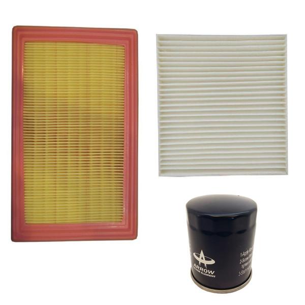 فیلنر روغن خودرو آرو مدل AF50755 مناسب برای نیسان ماکسیما به همراه فیلتر کابین و فیلتر هوا