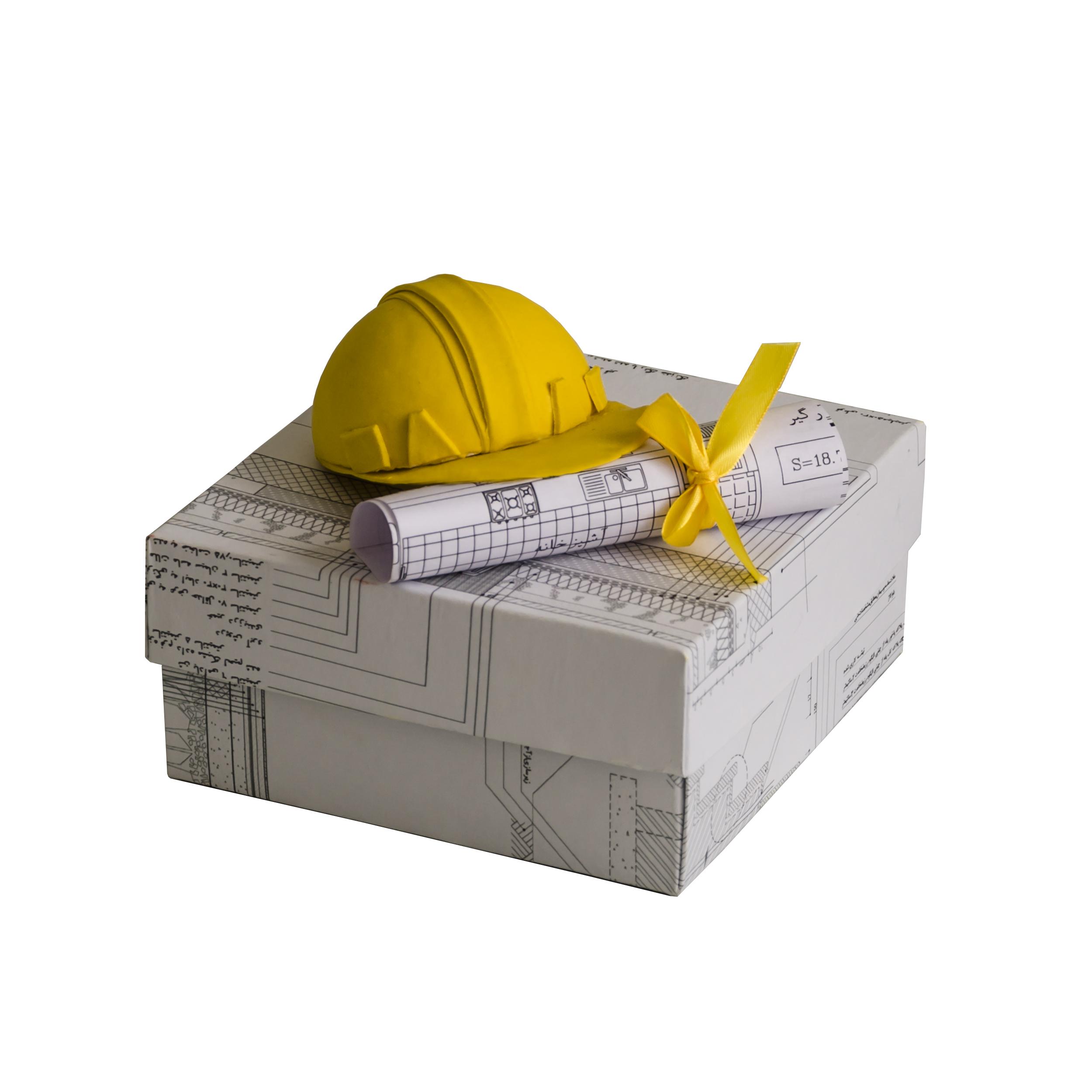 خرید                      جعبه هدیه جعبه های رنگی رنگی توپک طرح مهندسی کد-001