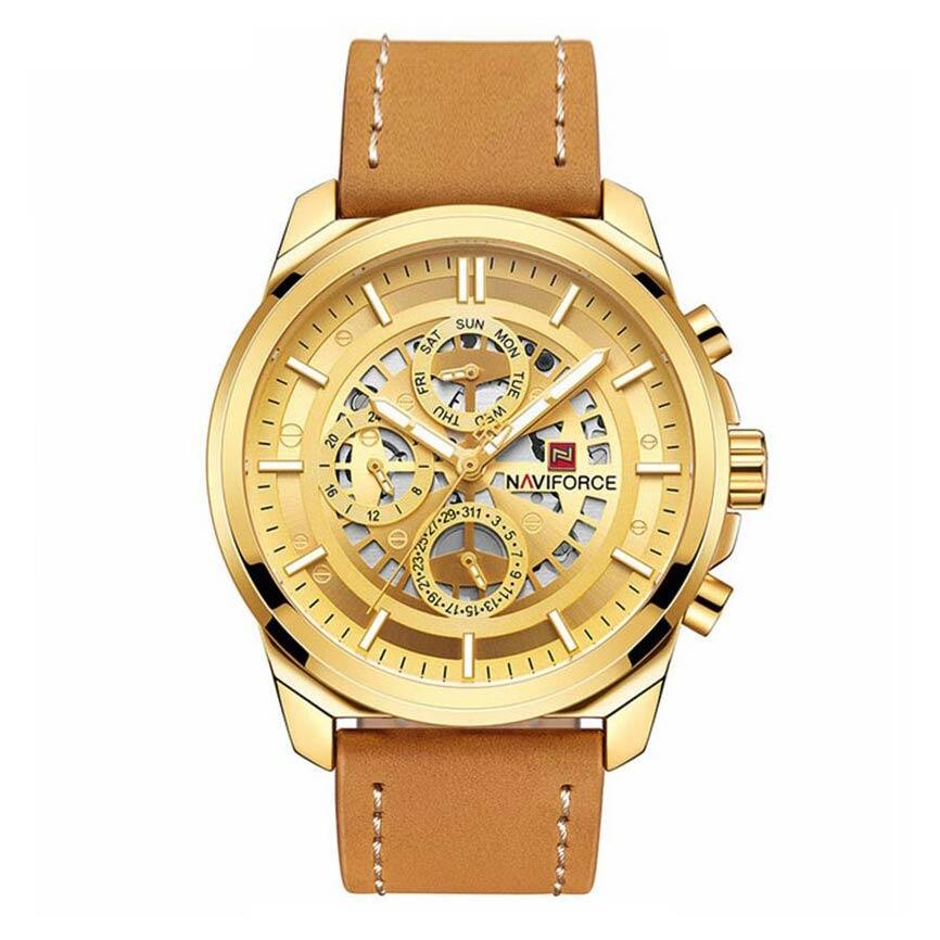 قیمت و خرید                      ساعت مچی عقربه ای مردانه نیوی فورس مدل NF9129M - GHA-TA