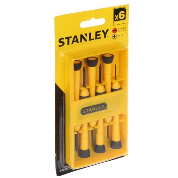 مجموعه 6 عددی پیچ گوشتی ساعتی استنلی مدل 052-66-0