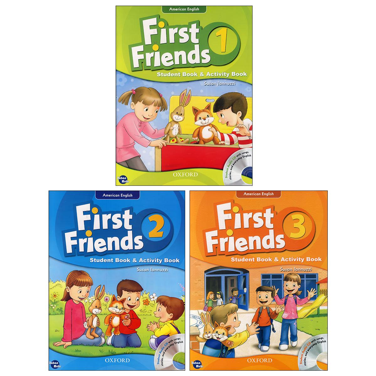 خرید                      کتاب American First Friends اثر Susan lannuzzi انتشارات زبان مهر 3 جلدی