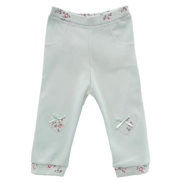 شلوار نوزادی دخترانه پولونیکس طرح فلوریا کد 09-11812