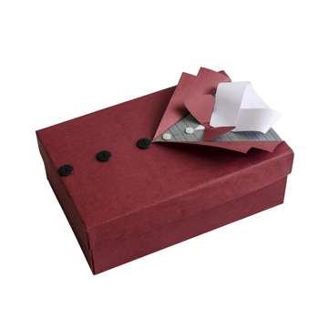جعبه هدیه توپک طرح پیراهن مردانه کد Z-001
