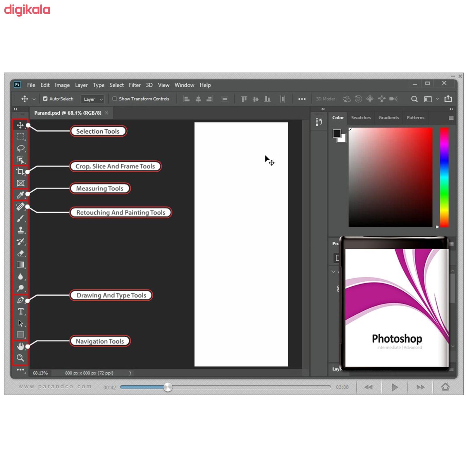 نرم افزار آموزش Photoshop 2020 شرکت پرند main 1 4
