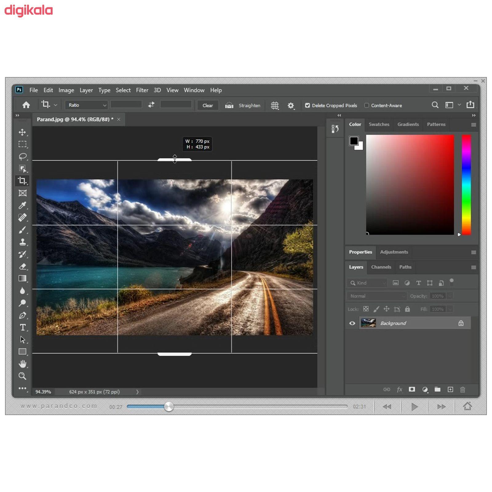 نرم افزار آموزش Photoshop 2020 شرکت پرند main 1 7