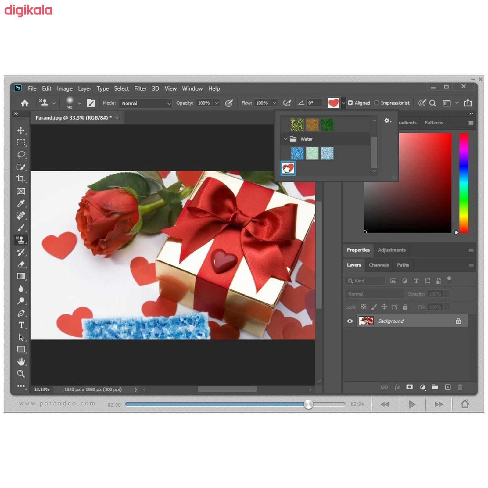 نرم افزار آموزش Photoshop 2020 شرکت پرند main 1 11