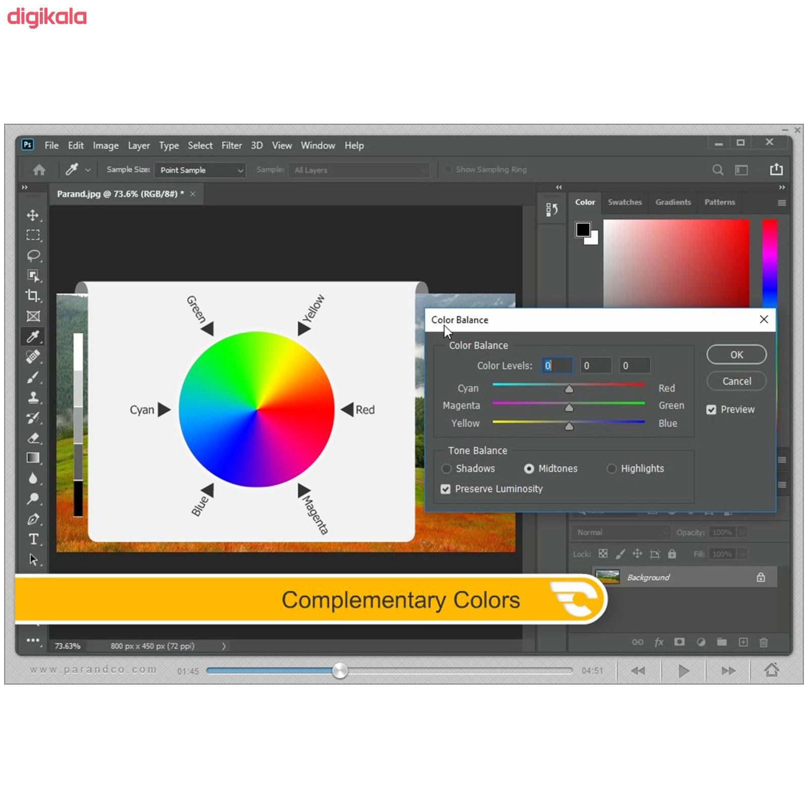 نرم افزار آموزش Photoshop 2020 شرکت پرند main 1 12