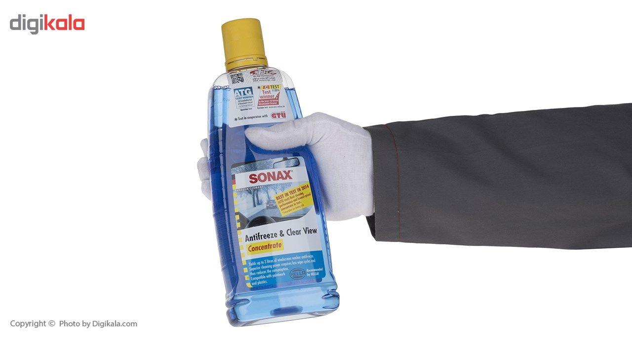 محلول شیشه شوی ضدیخ خودرو سوناکس مدل 332300 حجم 1000 میلی لیتر main 1 4