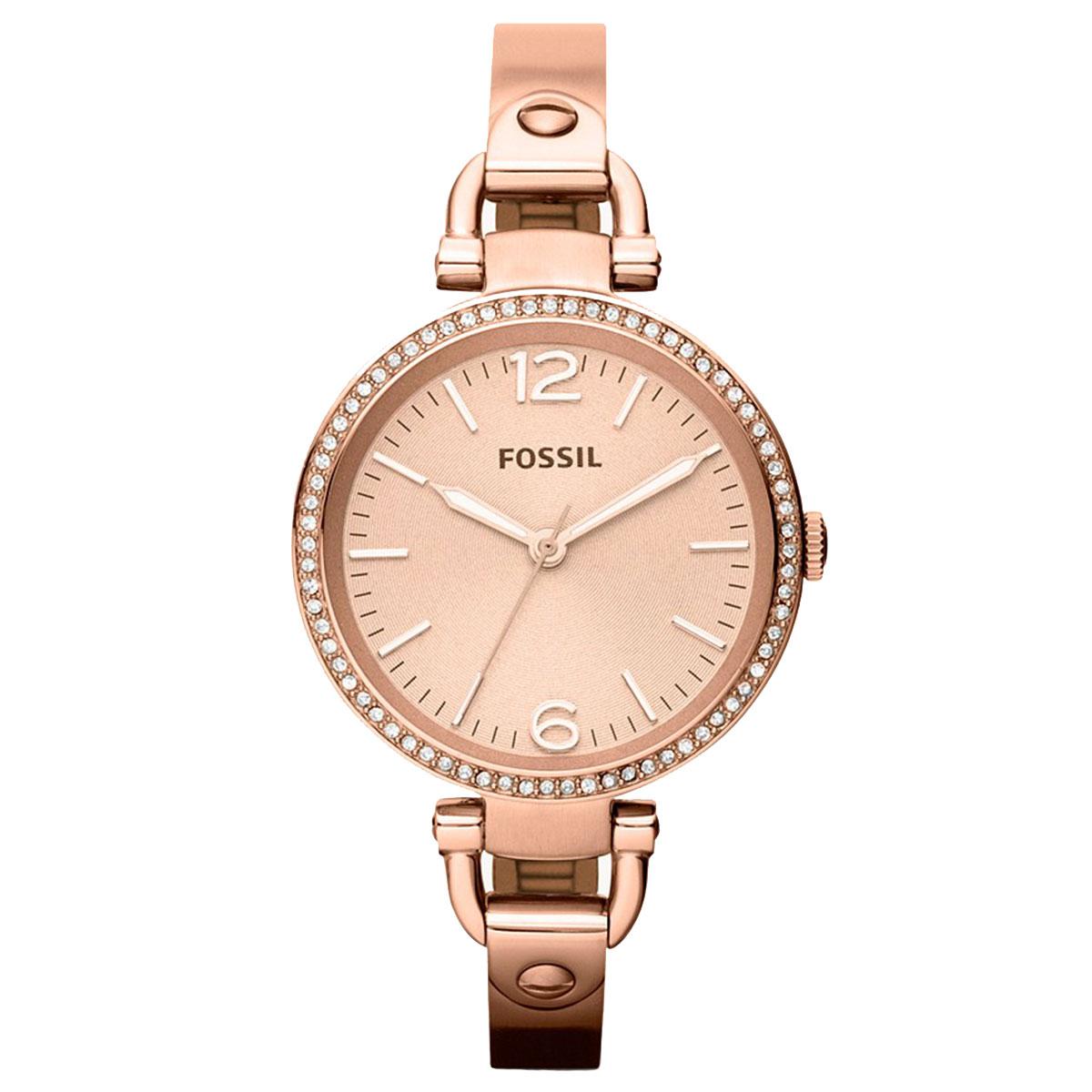 ساعت مچی عقربه ای زنانه فسیل مدل ES3226              ارزان