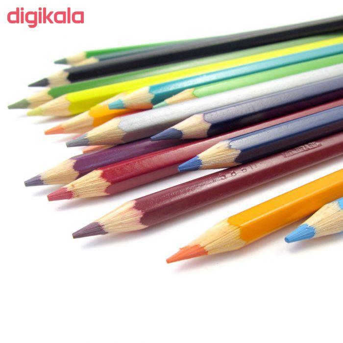 مداد رنگی 24 رنگ مدل Classic main 1 11