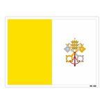 استیکر مستر راد طرح پرچم واتیکان مدل HSE 239