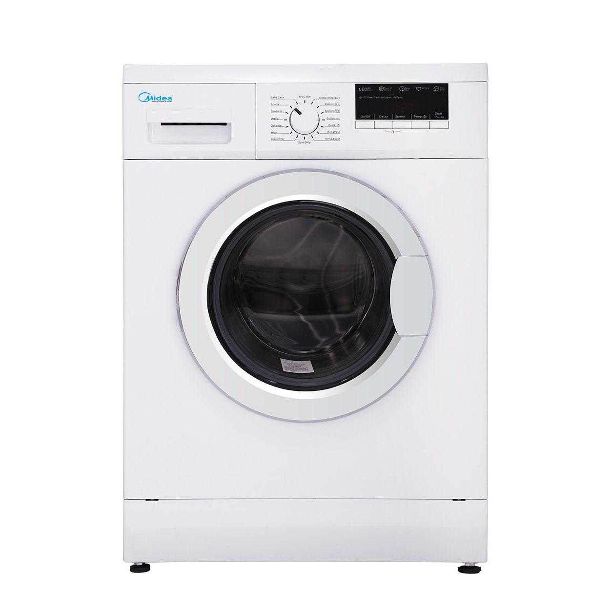 ماشین لباسشویی مایدیا مدل WU-34703 ظرفیت 7 کیلوگرم