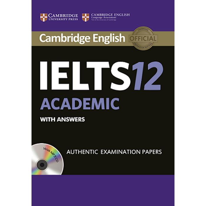خرید                      کتاب IELTS 12 Academic اثر جمعی از نویسندگان انتشارات Cambridge