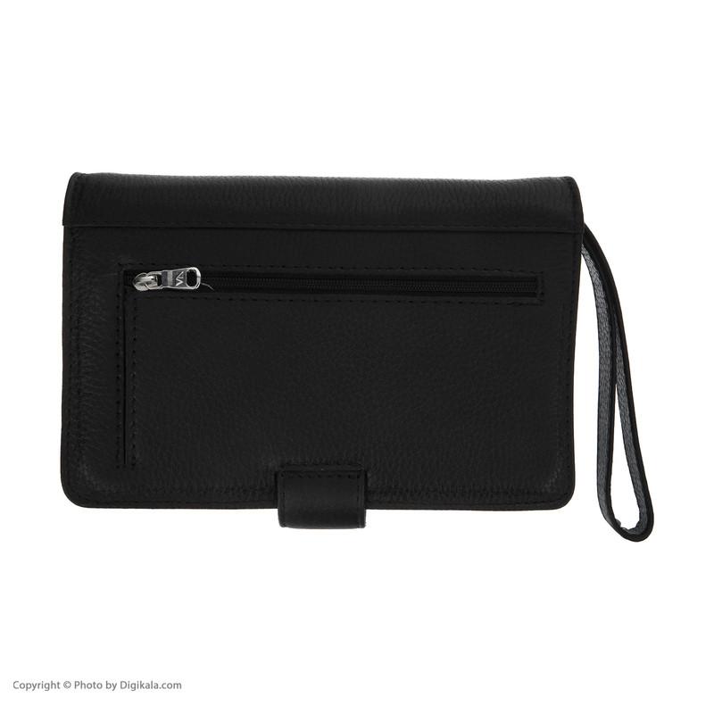 کیف دستی مردانه چرم مشهد مدل P5523-001