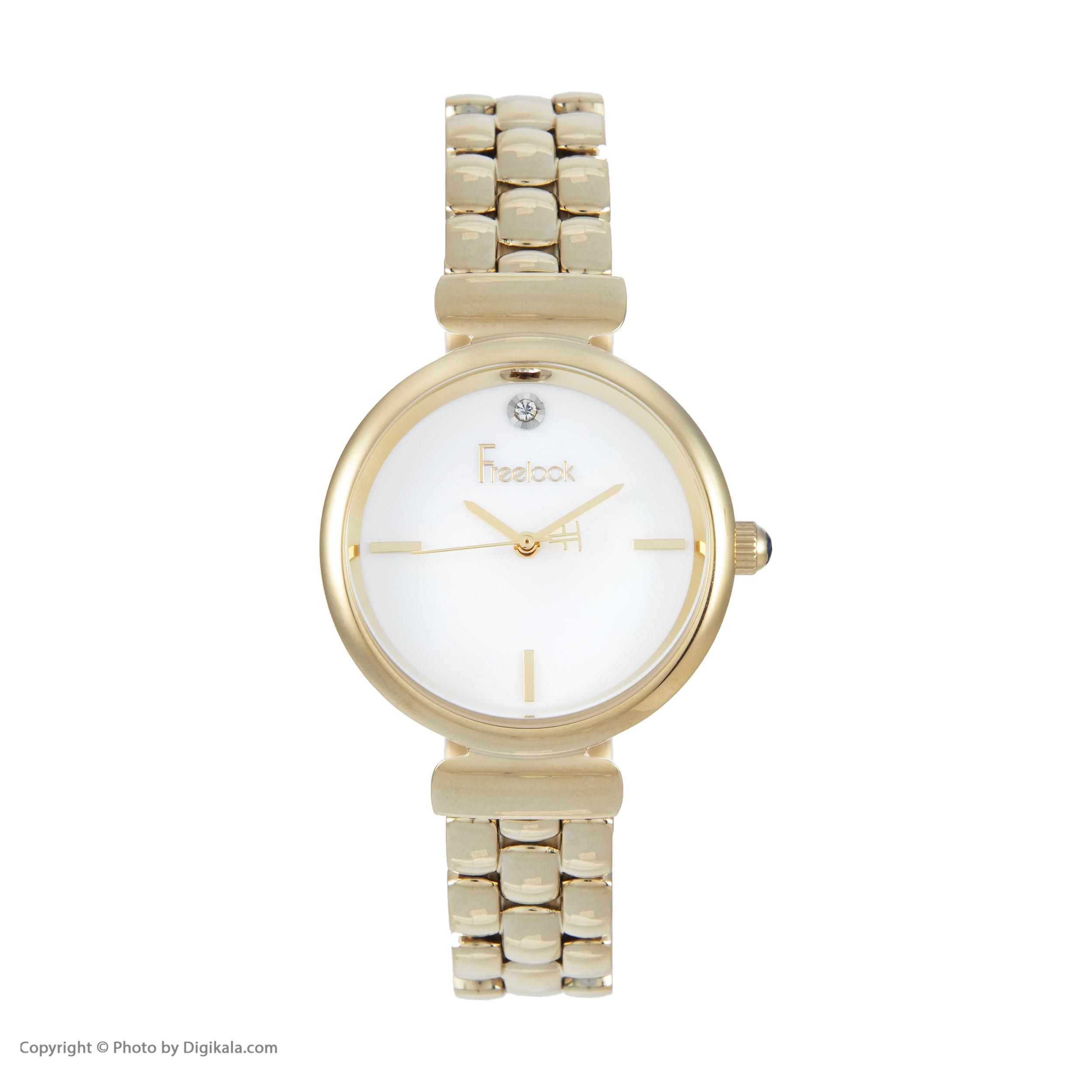 خرید و قیمت                      ساعت مچی  زنانه فری لوک مدل F.4.1052.03