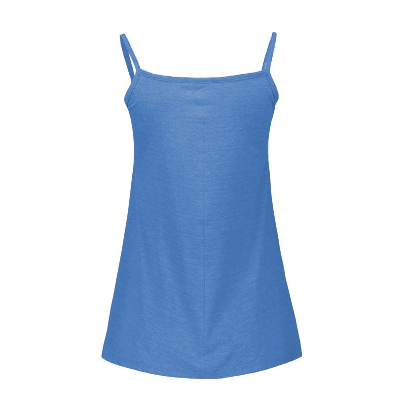 تاپ زنانه افراتین کد 1528 رنگ آبی روشن