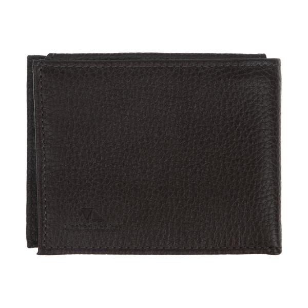 کیف پول مردانه چرم مشهد مدل D0243-089