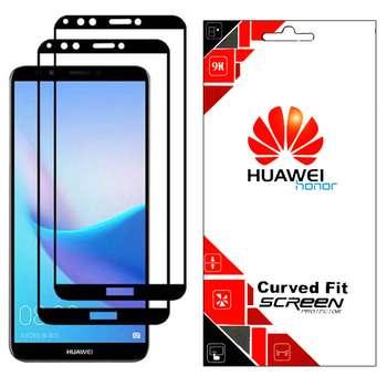 محافظ صفحه نمایش مدل GHF مناسب برای گوشی موبایل هوآوی 2018 Y9 prime بسته 2 عددی