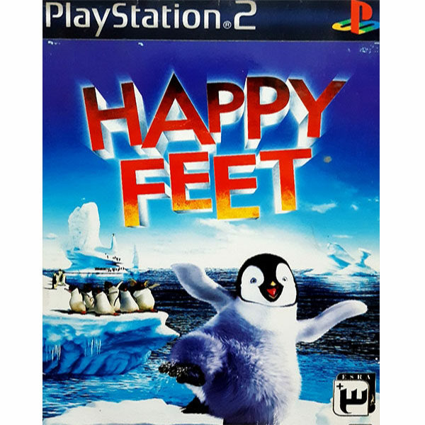 بازی HAPPY FEET  مخصوص PS2