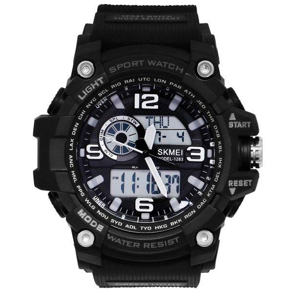 ساعت مچی دیجیتال مردانه اسکمی مدل 1283 رنگ مشکی