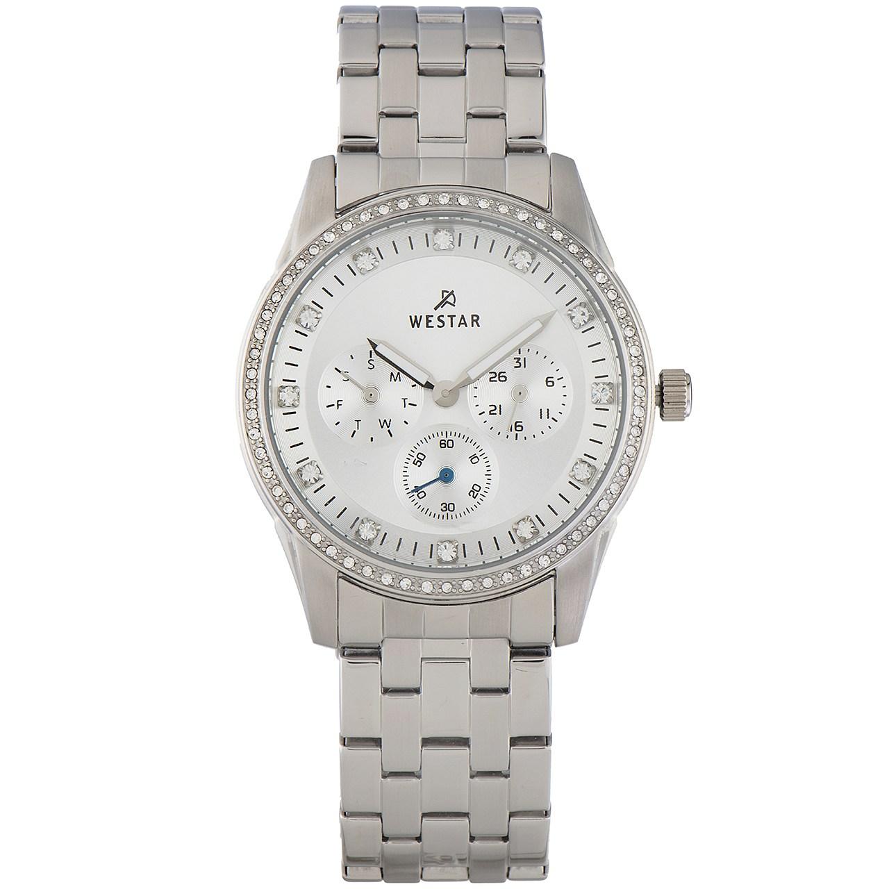 ساعت مچی عقربه ای زنانه وستار مدل W0499STN107