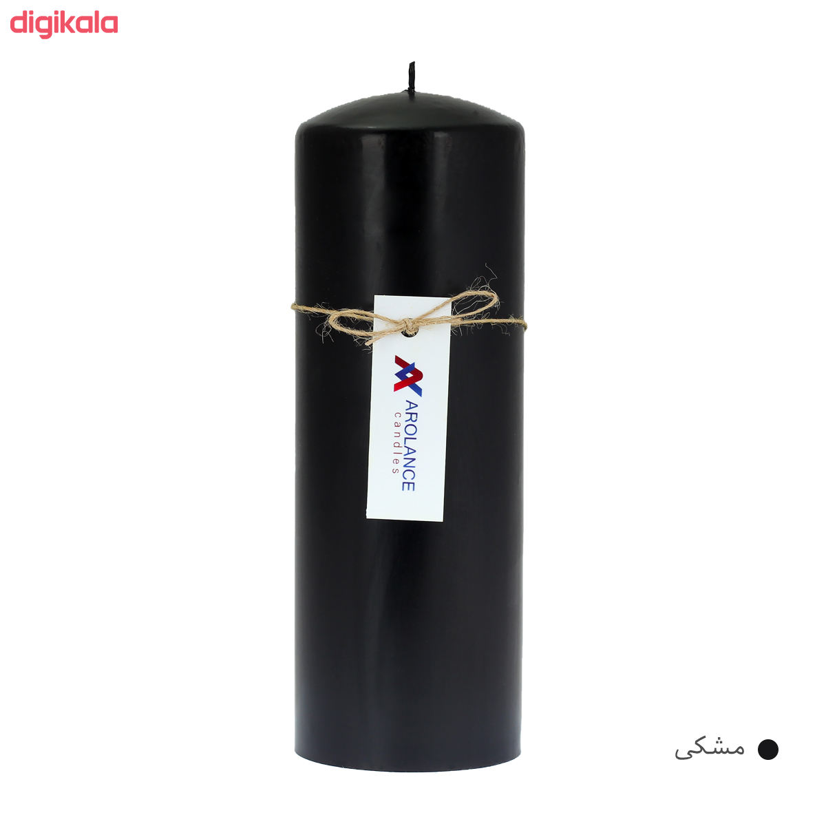 شمع آرولنس طرح استوانه مدل D720 main 1 5