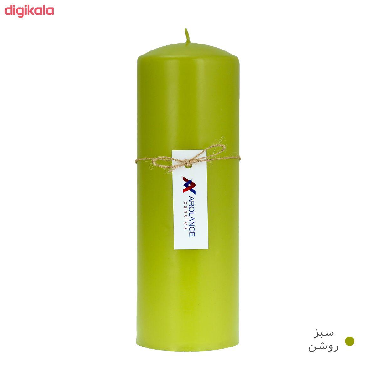 شمع آرولنس طرح استوانه مدل D720 main 1 3