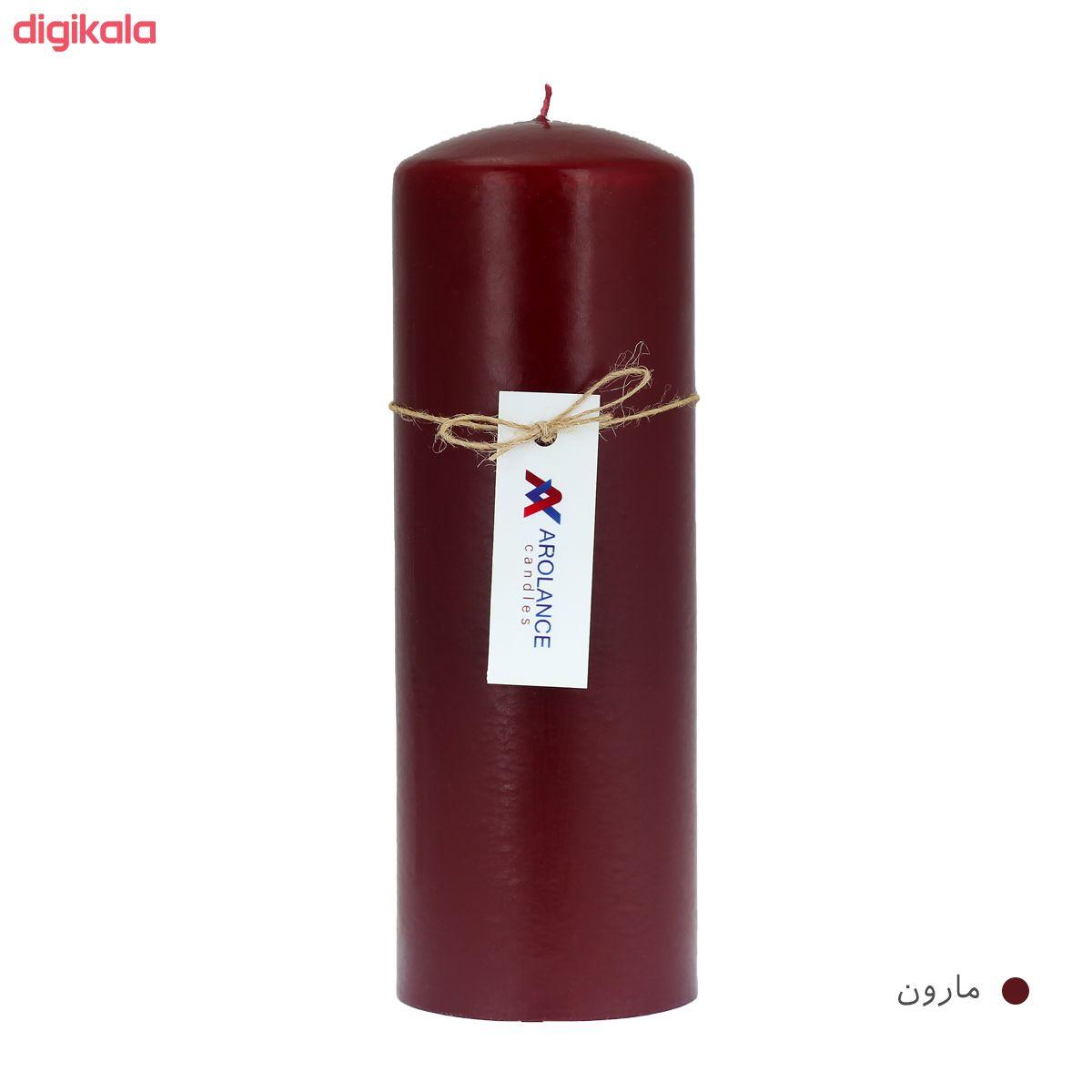 شمع آرولنس طرح استوانه مدل D720 main 1 1