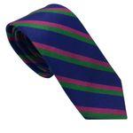 کراوات مردانه هکس ایران مدل KT-PRPL KJR BRN