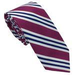 کراوات مردانه هکس ایران مدل KT-PRPL KJ BK