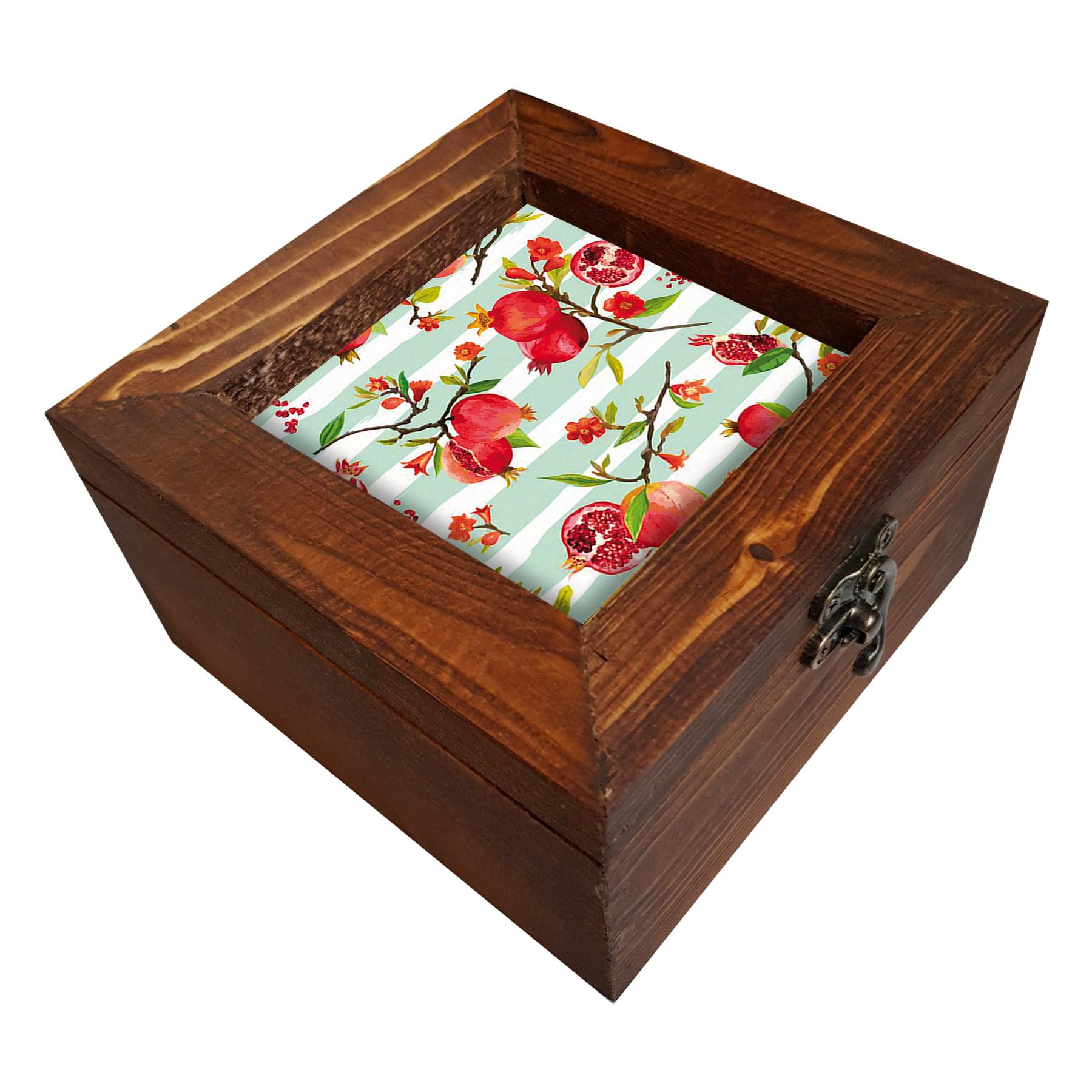 خرید                         جعبه هدیه چوبی کد A99