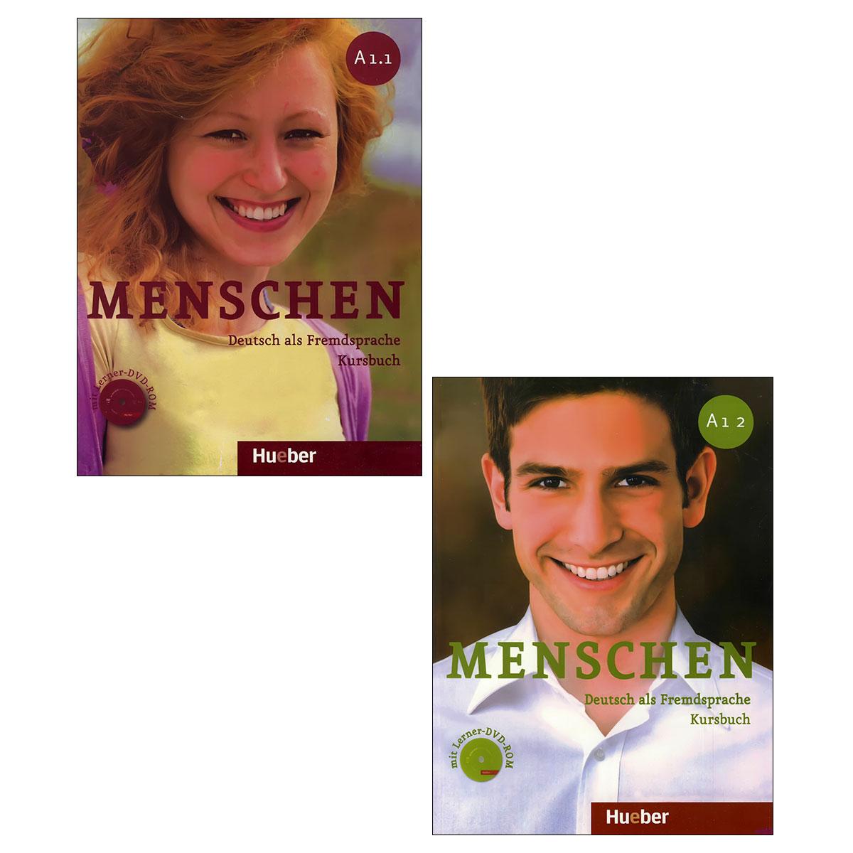 کتاب menschen A1 اثر Christoph Wortberg انتشارات زبان مهر 2 جلدی
