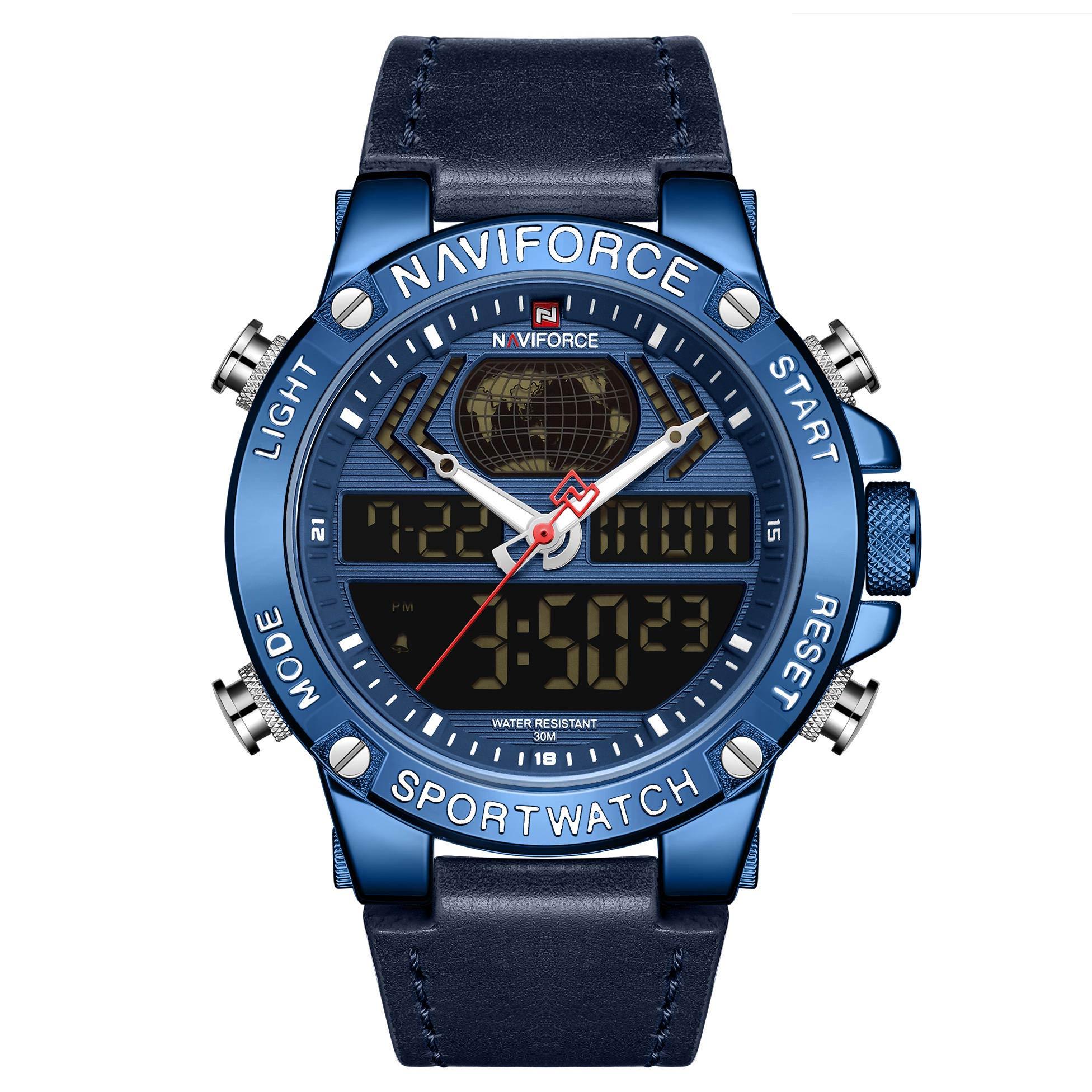 ساعت مچی دیجیتال مردانه نیوی فورس مدل NF9164M- SO-SO