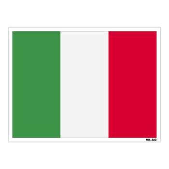 استیکر مستر راد طرح پرچم ایتالیا مدل HSE 124