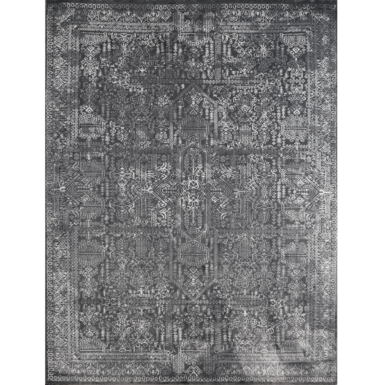 فرش ماشینی مهستان مدل اونیکس کد onyx4 زمینه طوسی