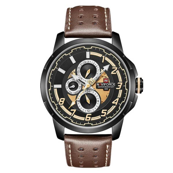 قیمت و خرید                      ساعت مچی عقربه ای مردانه نیوی فورس مدل NF9142M - GHA-ME