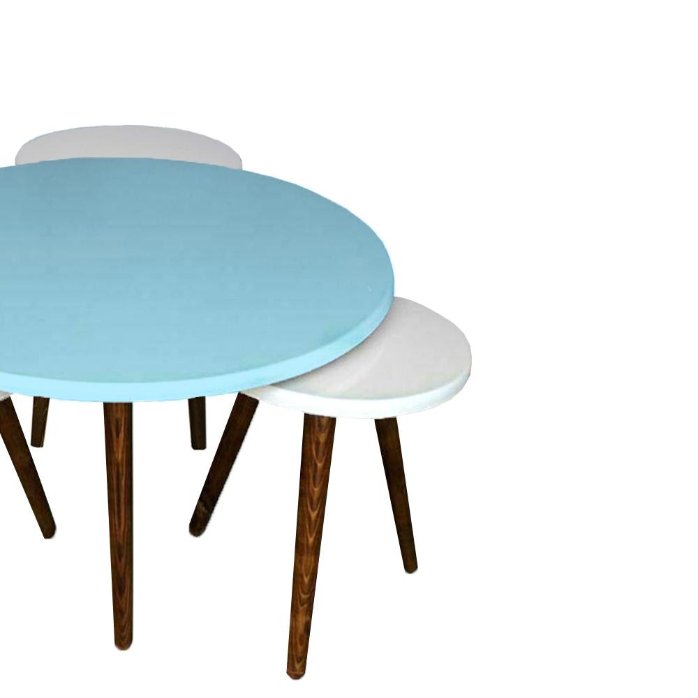 قیمت                      میز پذیرایی مدل نیلو کد 07 مجموعه 4 عددی