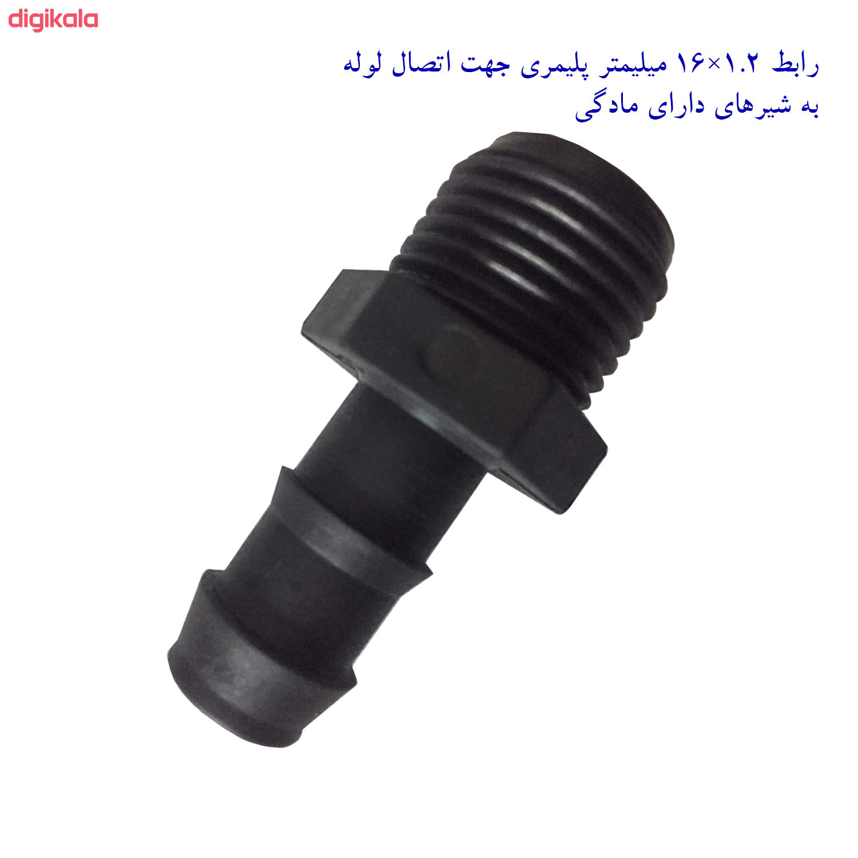 لوازم آبیاری قطره ای تهران دریپ مدل ALFA-100 مجموعه 100 عددی main 1 5