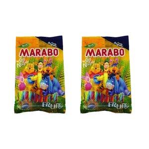 پاستیل مدادی شکری میوه ای مارابو - 120 گرم بسته 2 عددی