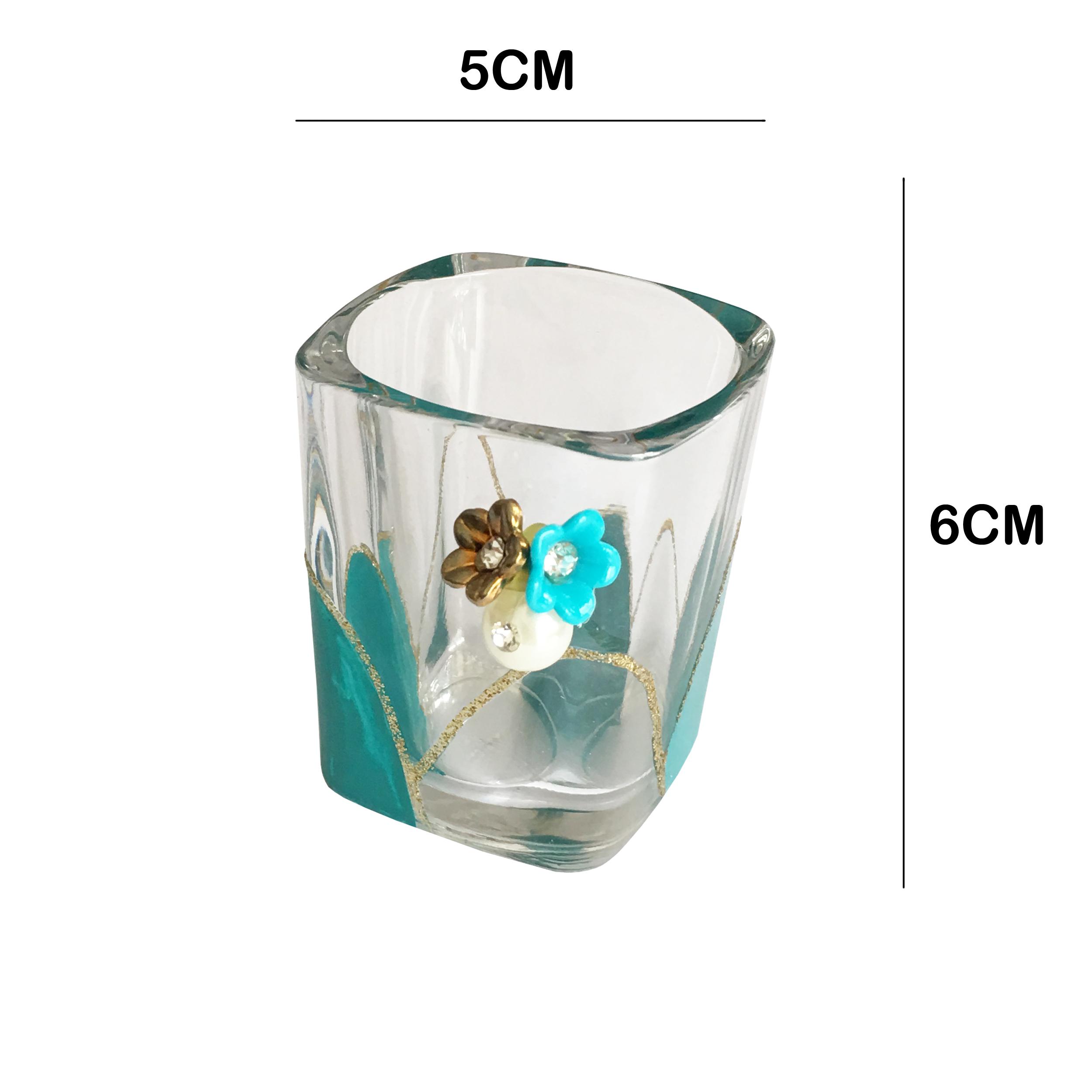خرید                      جاشمعی شیشه ای کد SON1 بسته 2 عددی