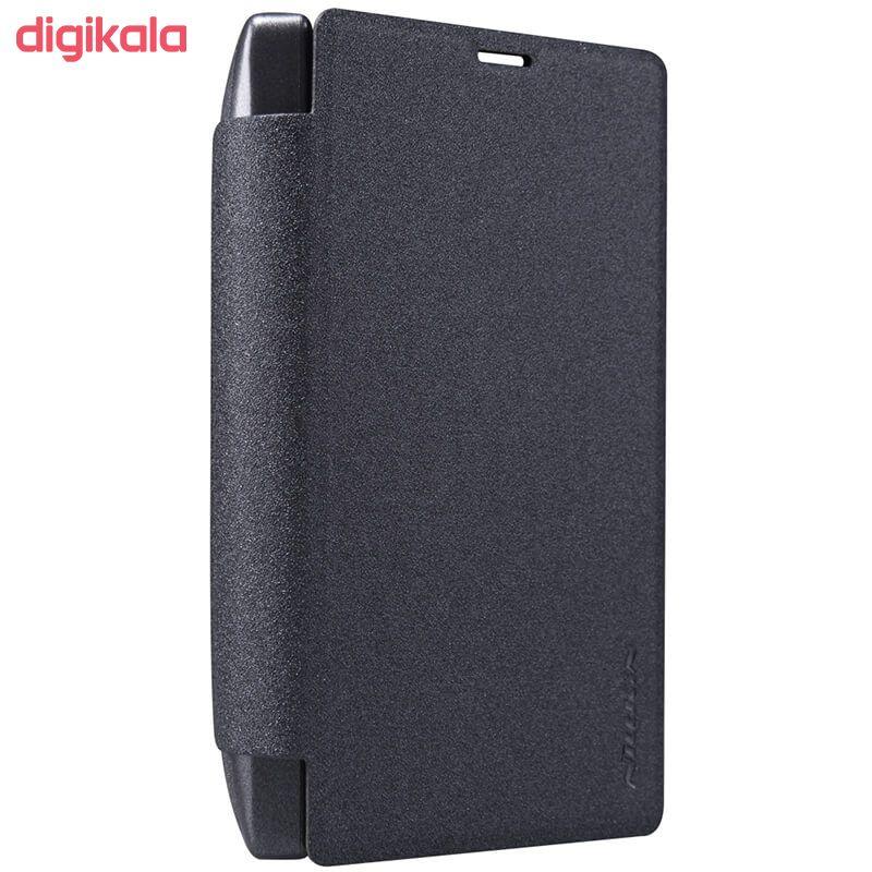 کیف کلاسوری نیلکین مدل New Leather Sparkle مناسب برای گوشی موبایل مایکروسافت Lumia 532 main 1 2