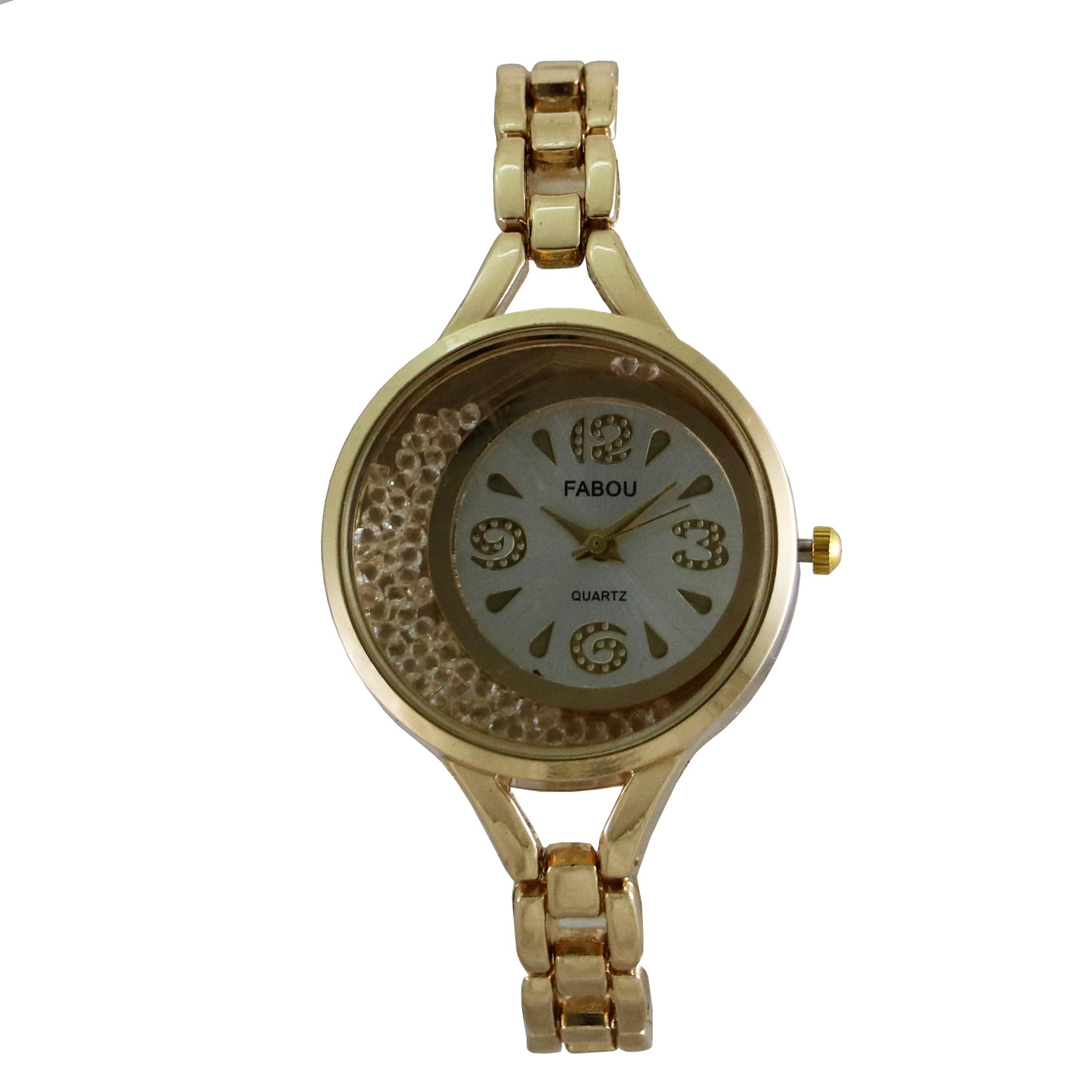 ساعت مچی عقربه ای زنانه فابو کد mw941              ارزان