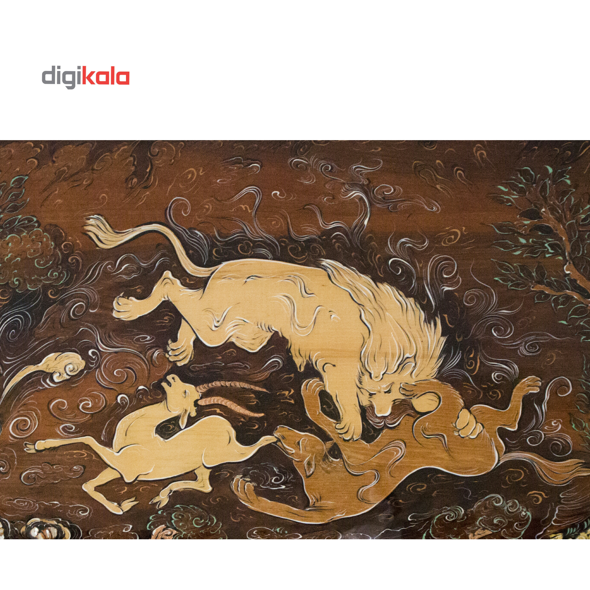 خرید                      تابلو معرق کاری طرح طبیعت حیوانات مدل G1