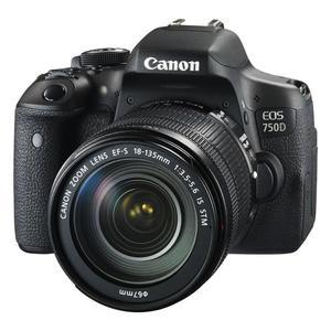 دوربین دیجیتال کانن مدل EOS 750D به همراه لنز 135-18 میلی متر IS STM