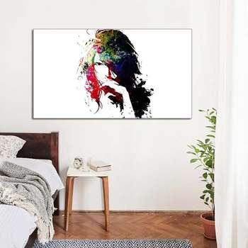 تابلو شاسی طرح نقاشی چهره مدل 44